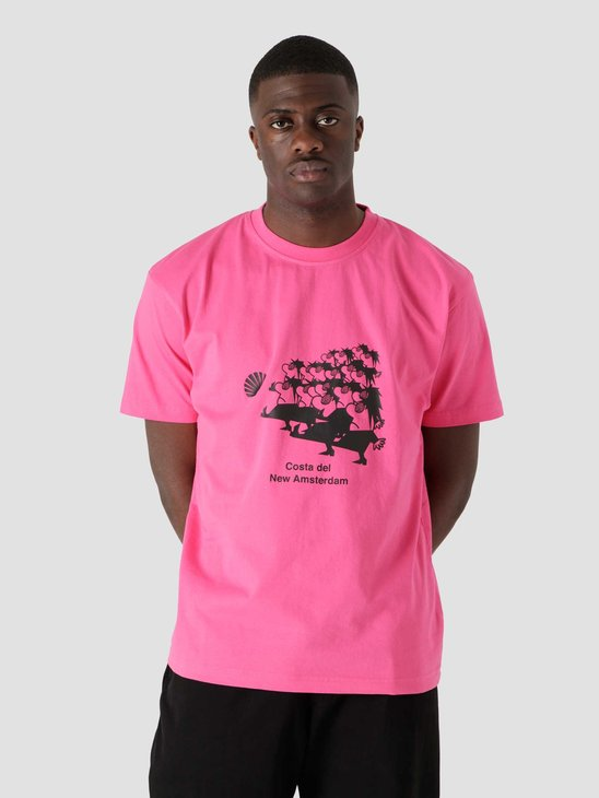 New Amsterdam Surf Association March Tee Pink 2021004