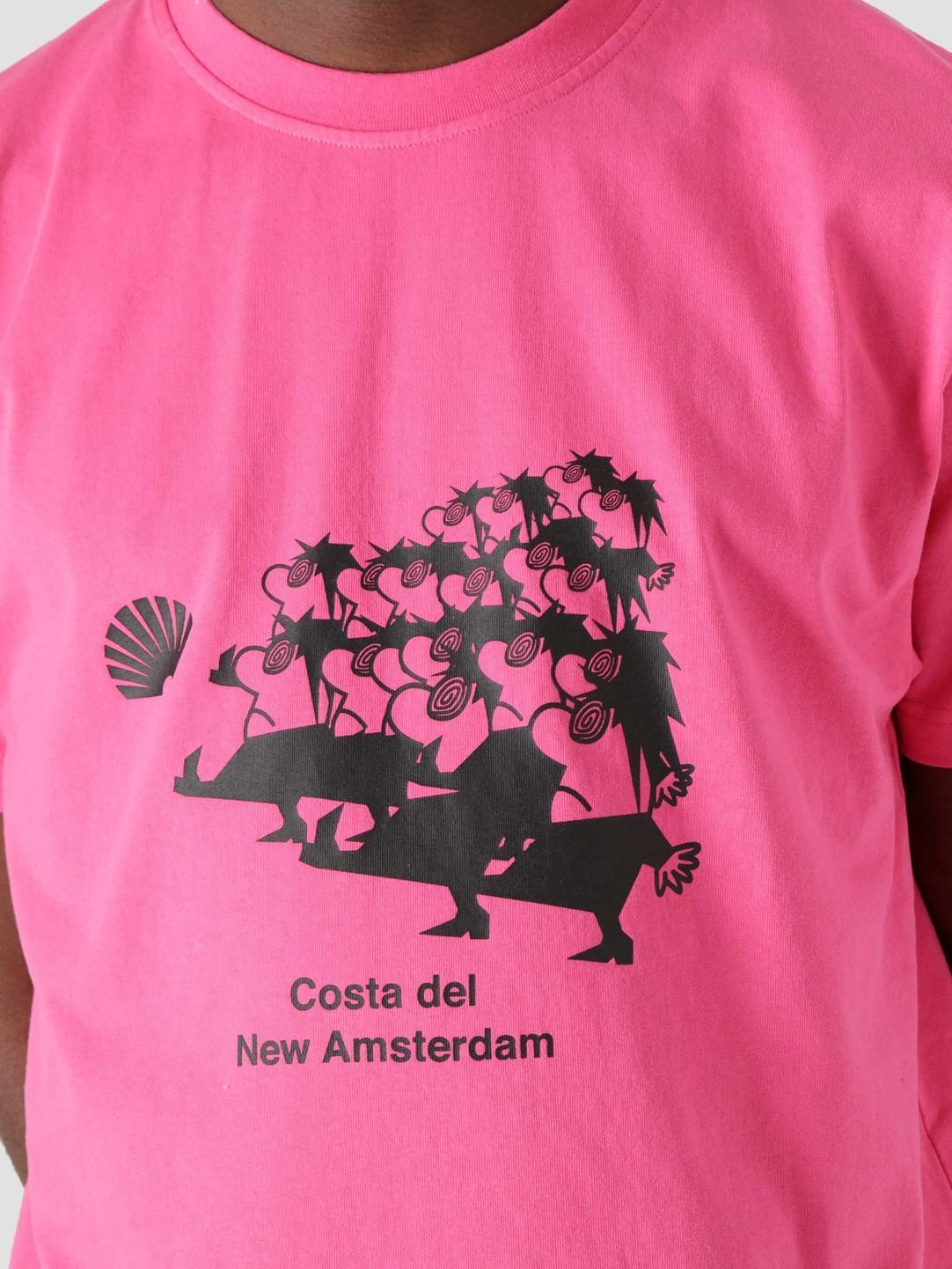 New Amsterdam Surf Association New Amsterdam Surf Association March Tee Pink 2021004