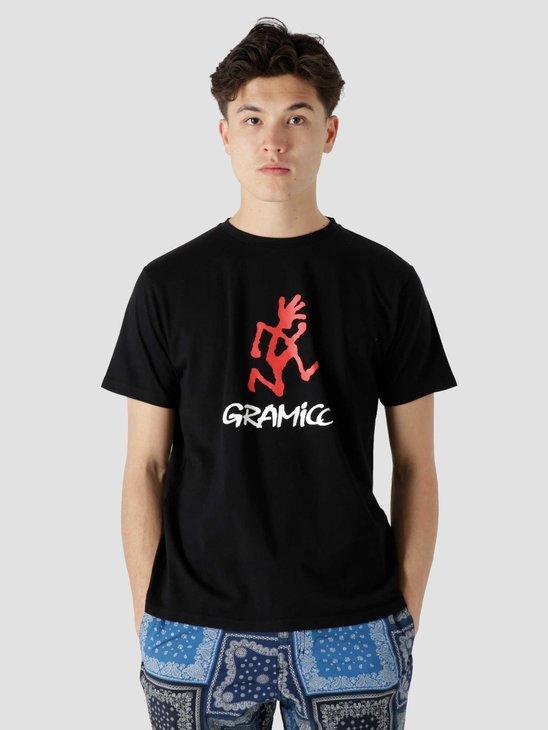 Gramicci Logo T-Shirt Black 2012-STS