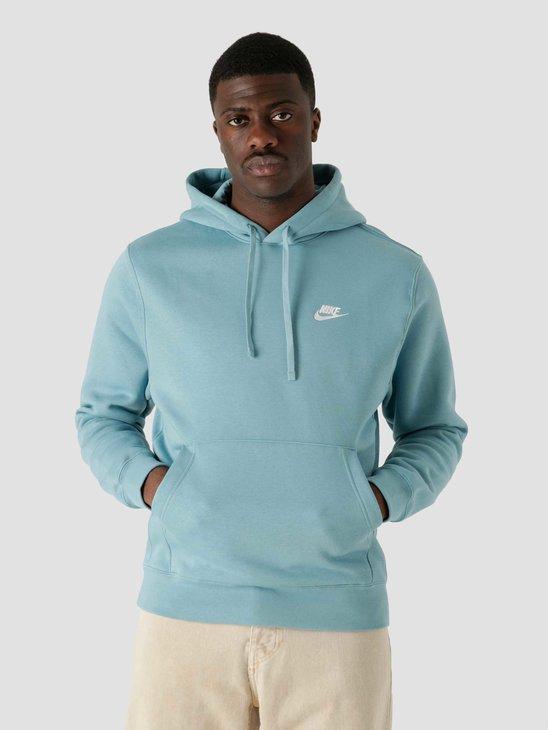 Nike Nsw Club Hoodie Po Bb Cerulean Cerulean White BV2654-424