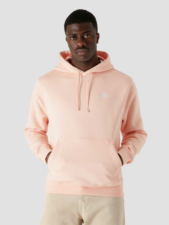 Nike Nsw Club Hoodie Po Bb Arctic Orange Arctic Orange White BV2654-800