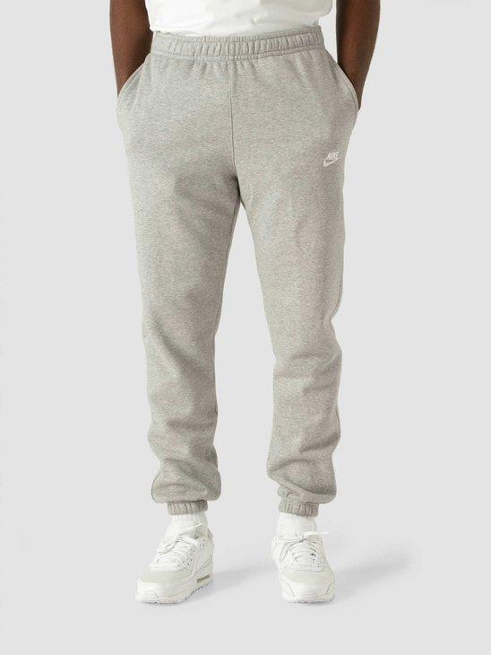 Nike Nsw Club Pant Cf Bb Dk Grey Heather Matte Silver White BV2737-063