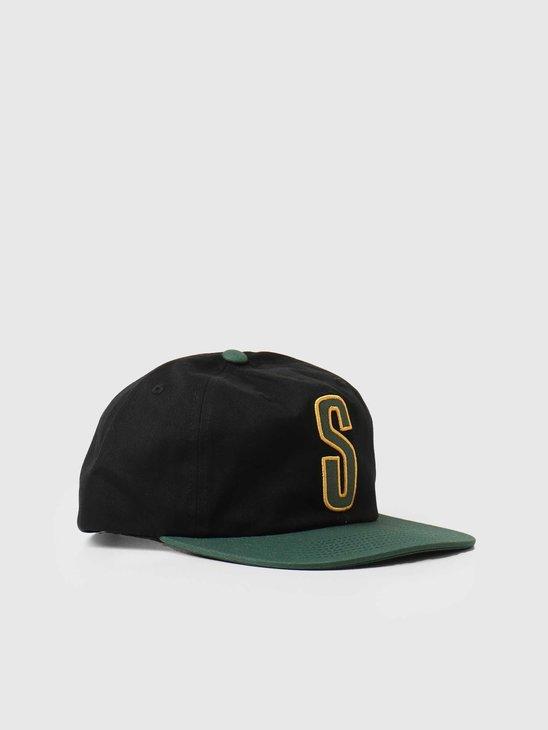 Stussy 2-Tone Vintage Cap Black 131994