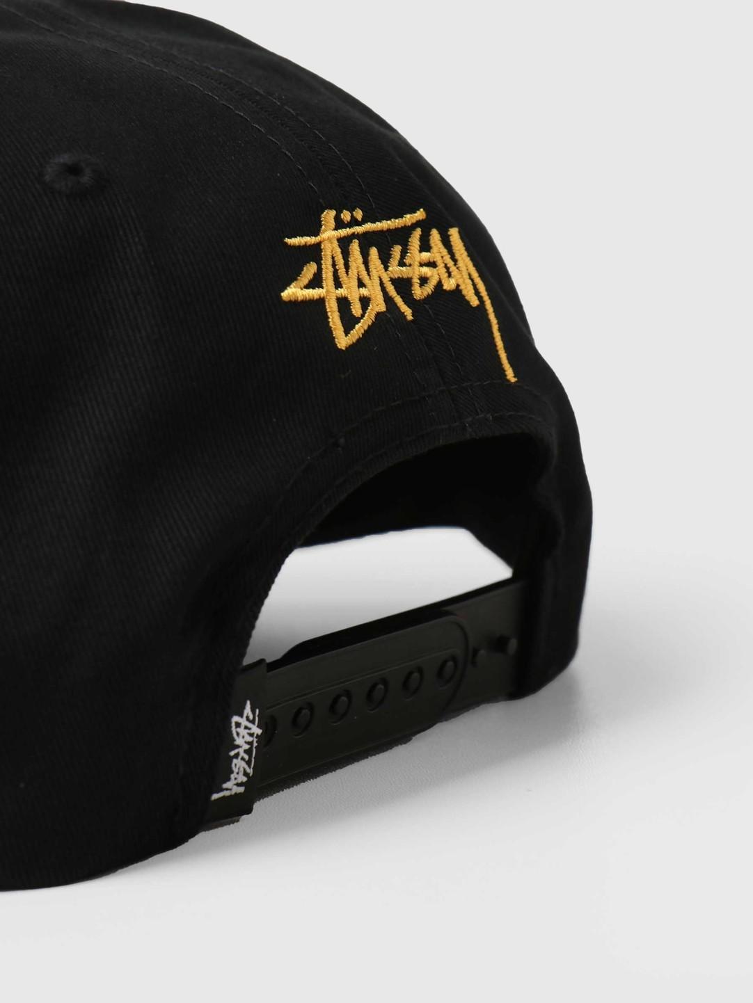 Stussy Stussy 2-Tone Vintage Cap Black 131994
