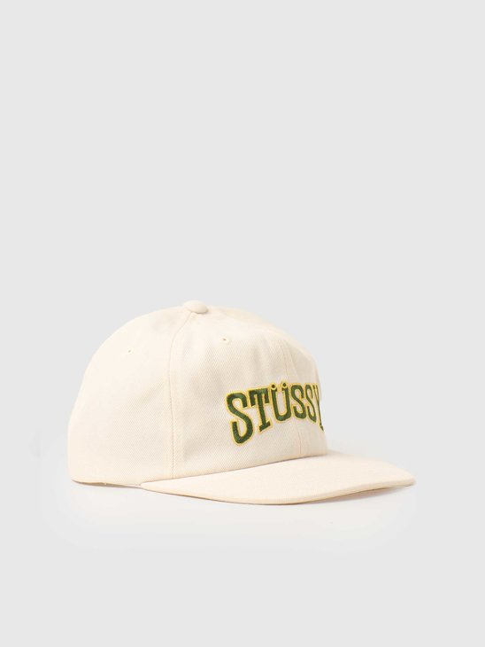 Stussy Burly Arch Cap Natural 131996