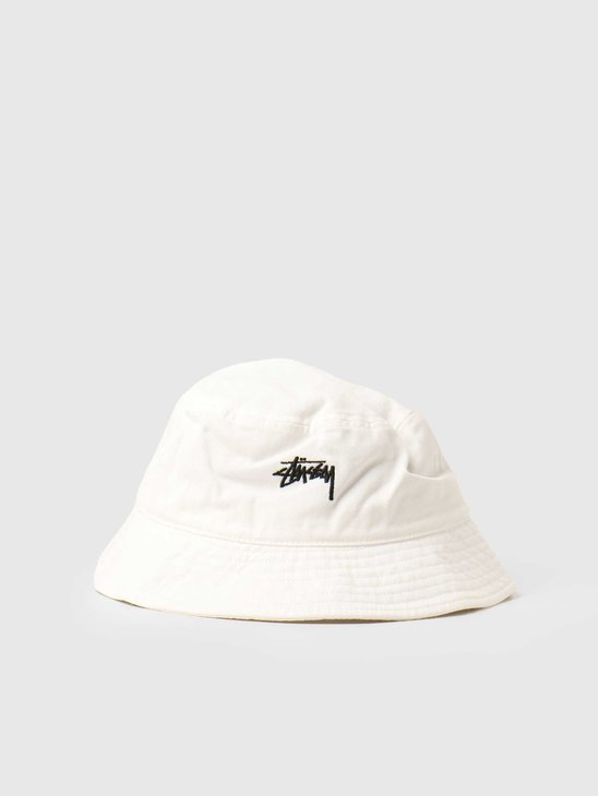Stussy Stock Bucket Hat Natural 1321023