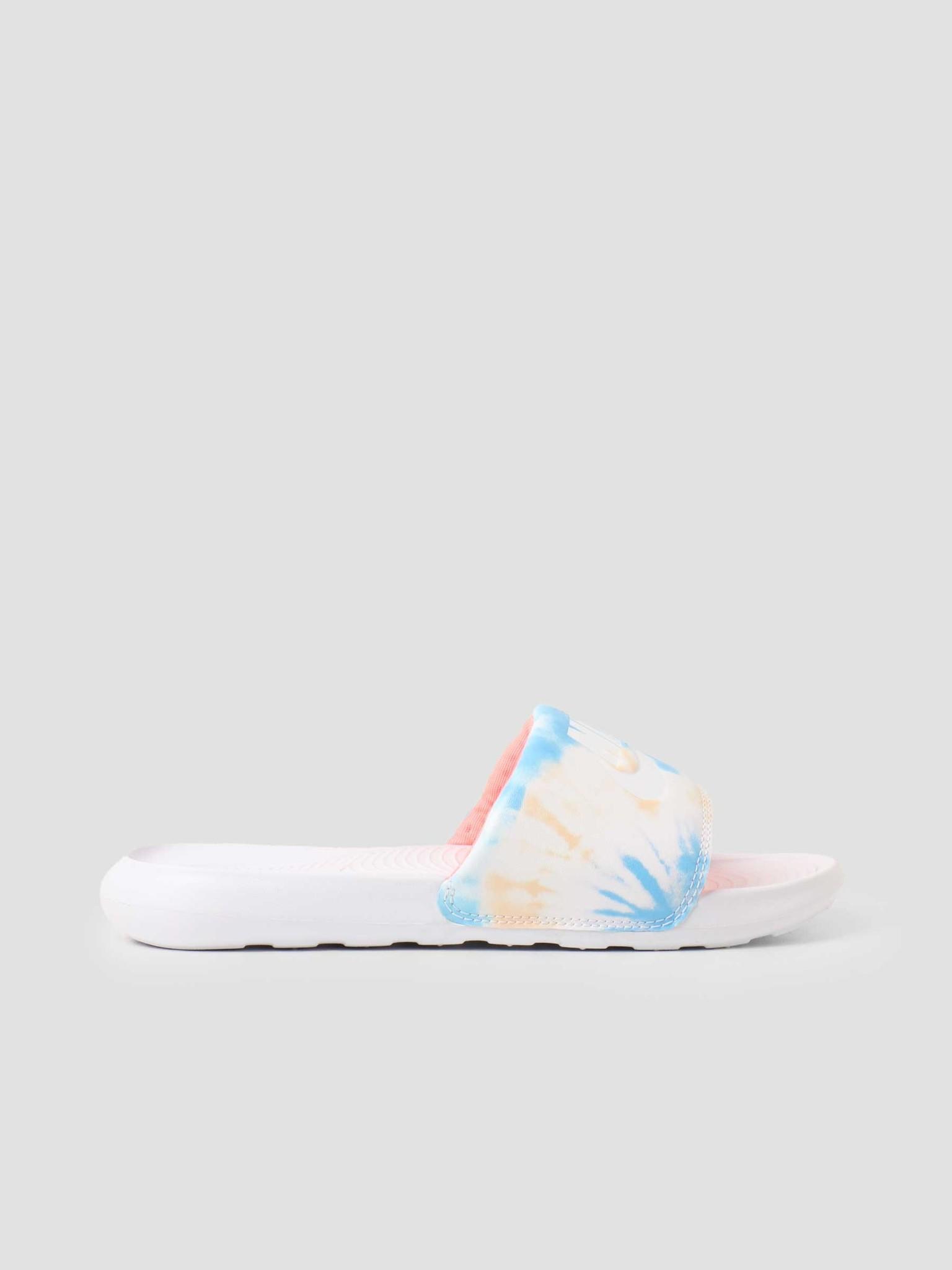 Nike Nike W Nike Victori One Slide Print White White Bright Mango Sapphire CN9676-101