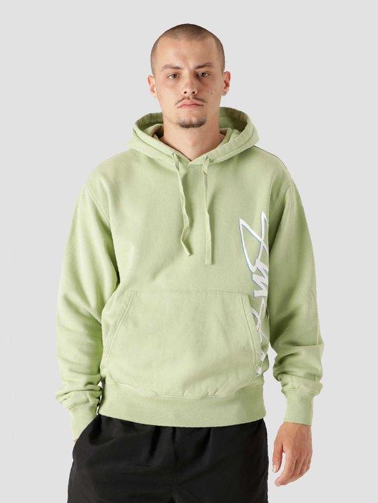 Stussy Smooth Stock Printed Hood Green 118426