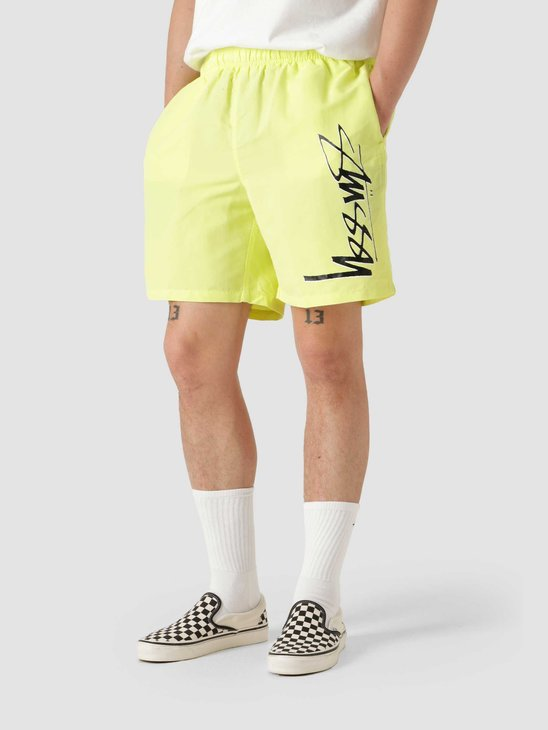 Stussy Smooth Stock Water Short Lime 113133