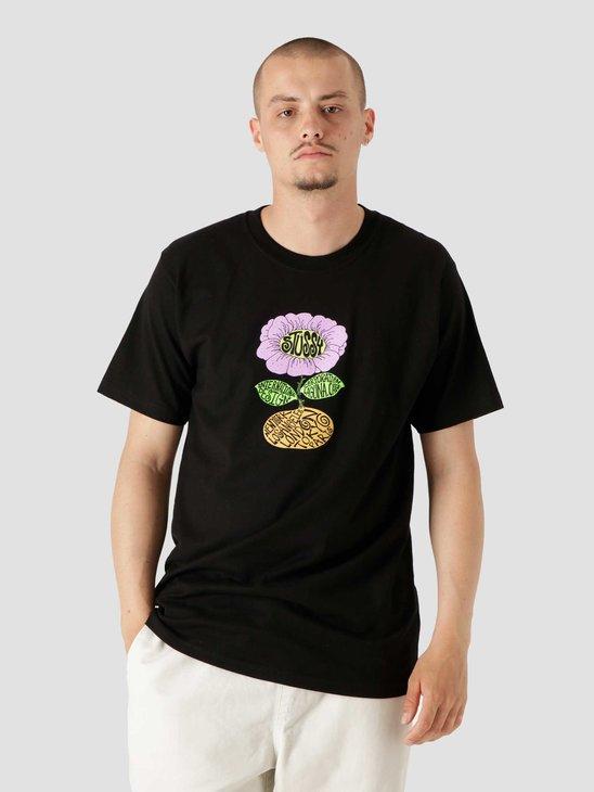 Stussy Sunflower T-Shirt Black 1904693