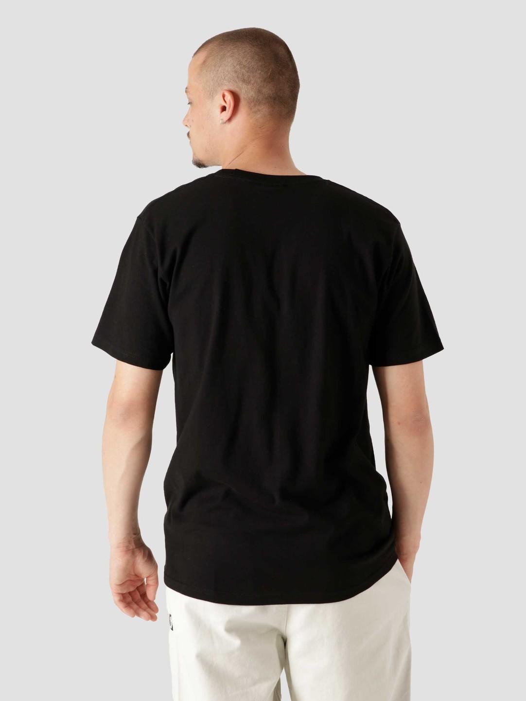 Stussy Stussy 3 People T-Shirt Black 1904683