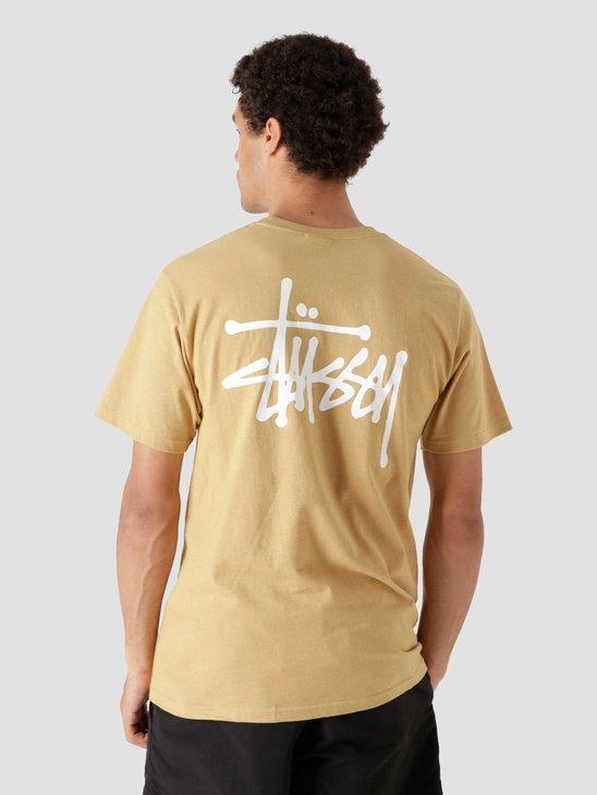Stussy Basic Stussy T-Shirt Khaki 1904649