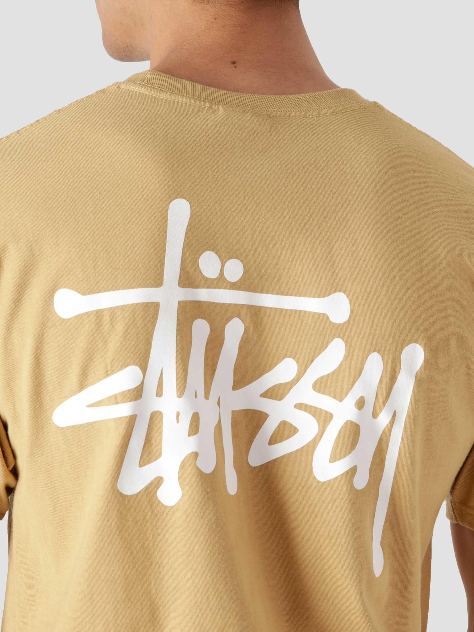 Stussy Stussy Basic Stussy T-Shirt Khaki 1904649