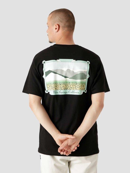 Stussy Palm Springs T-Shirt Black 1904691