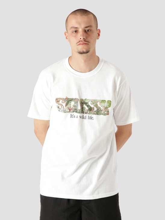 Stussy It'S A Wild Life T-Shirt White 1904688