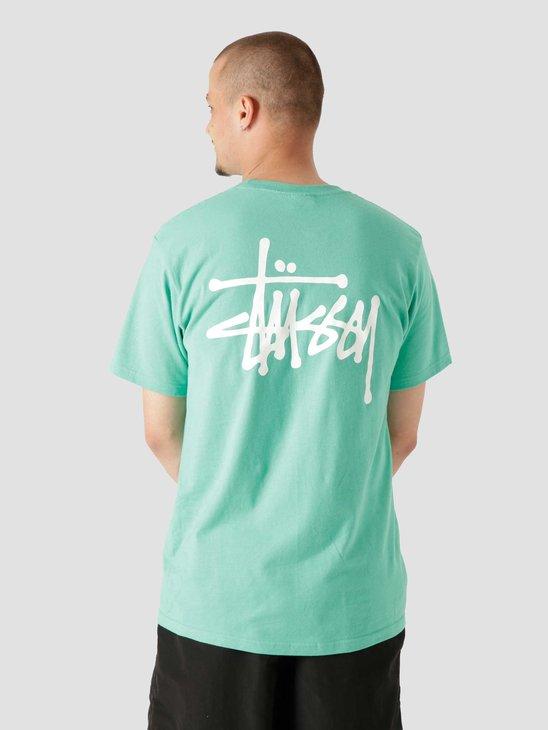 Stussy Basic Stussy T-Shirt Green 1904649