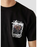 Stussy Stussy Camellias Pig. Dyed T-Shirt Black 1904695