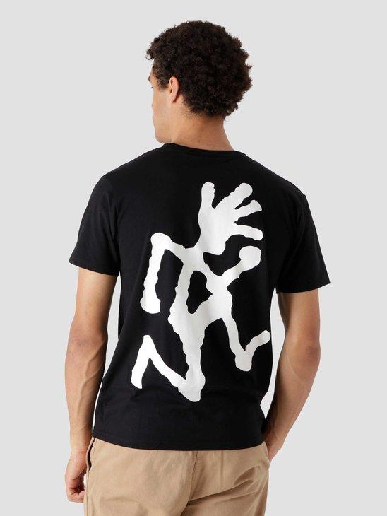 Gramicci Big Runningman T-shirt Black 2013-STS