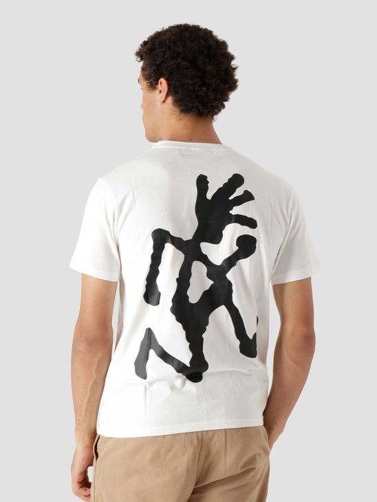 Gramicci Big Runningman T-shirt White 2013-STS