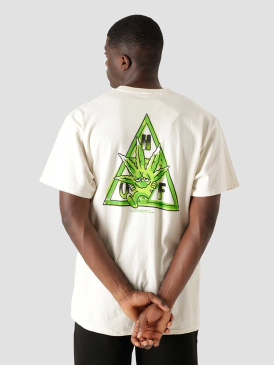 HUF Green Buddy Tt Longsleeve T-Shirt Natural TS01607