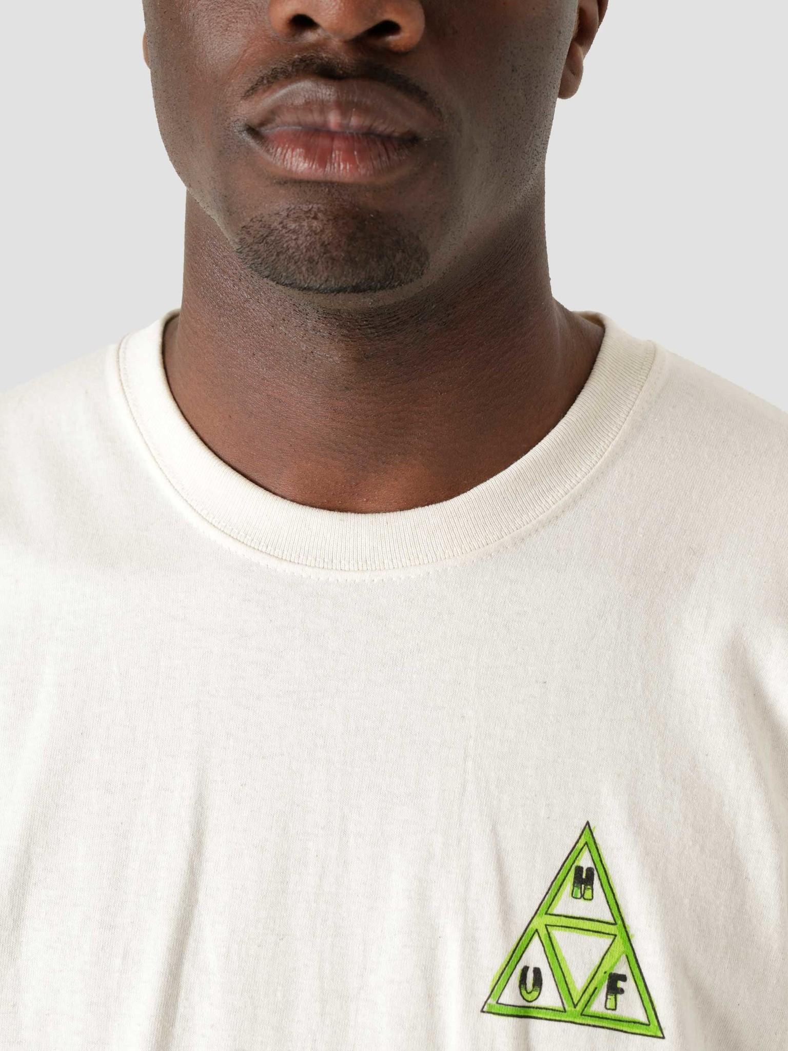 HUF HUF Green Buddy Tt Longsleeve T-Shirt Natural TS01607
