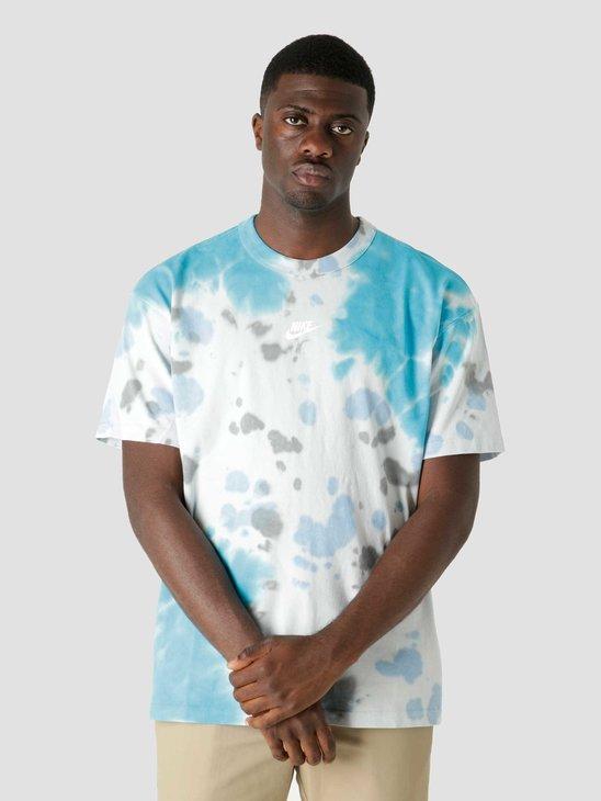 Nike Nsw T-Shirt Pre Essntl Ssnl Laser Blue Football Grey DD2720-446