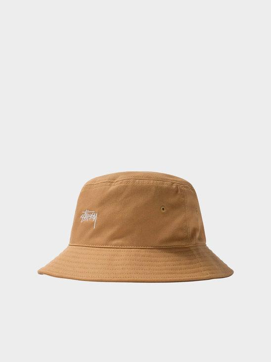 Stussy Stock Bucket Hat Khaki 1321023-1007