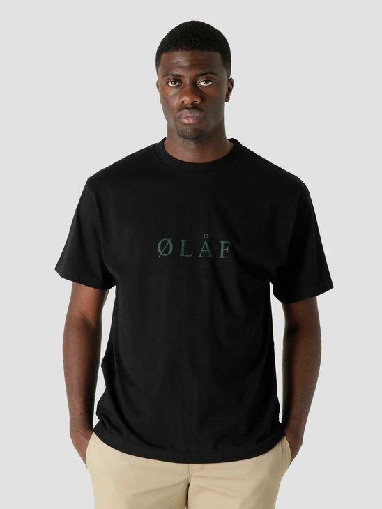 Olaf Hussein OLAF Serif T-Shirt Black