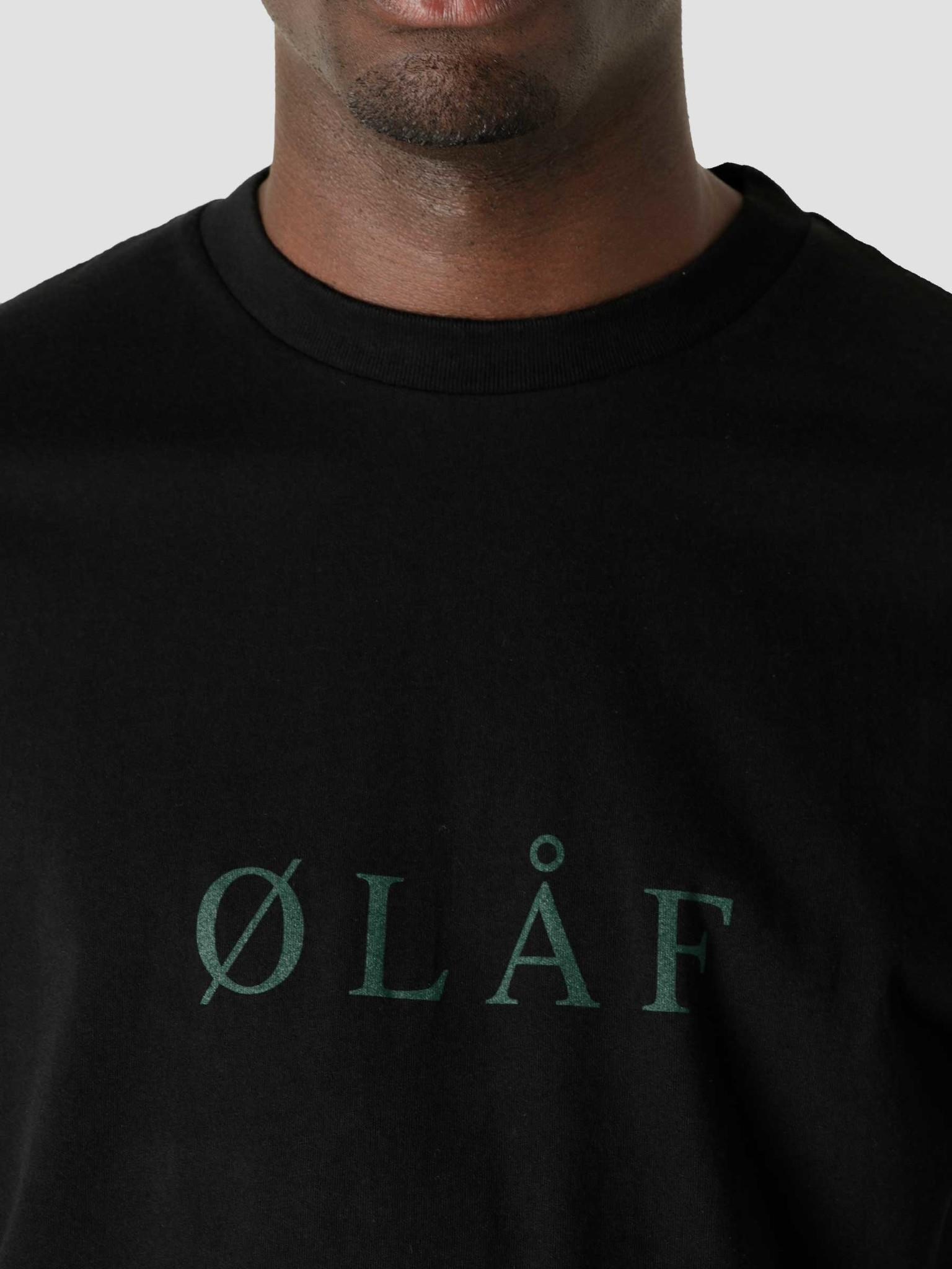 Olaf Hussein Olaf Hussein OLAF Serif T-Shirt Black