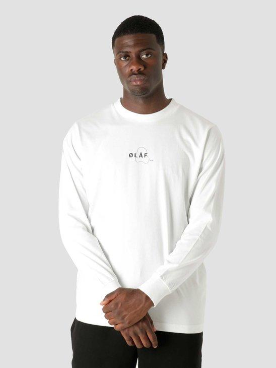 Olaf Hussein OLAF Double Mirror Longsleeve T-Shirt White