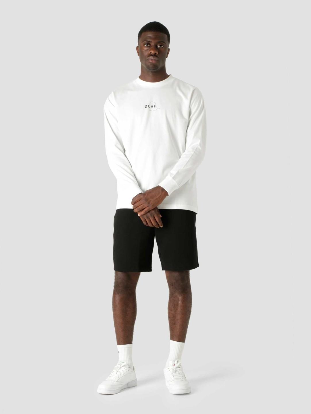 Olaf Hussein Olaf Hussein OLAF Double Mirror Longsleeve T-Shirt White