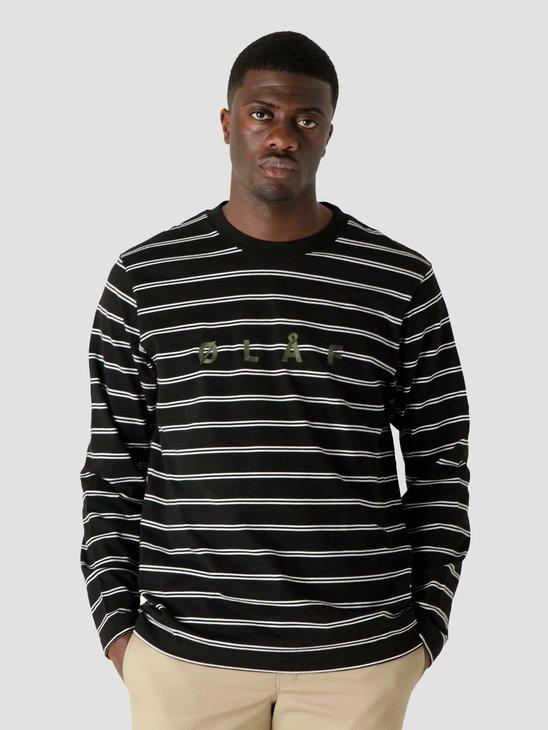 Olaf Hussein OLAF Mini Stripe Longsleeve Black White