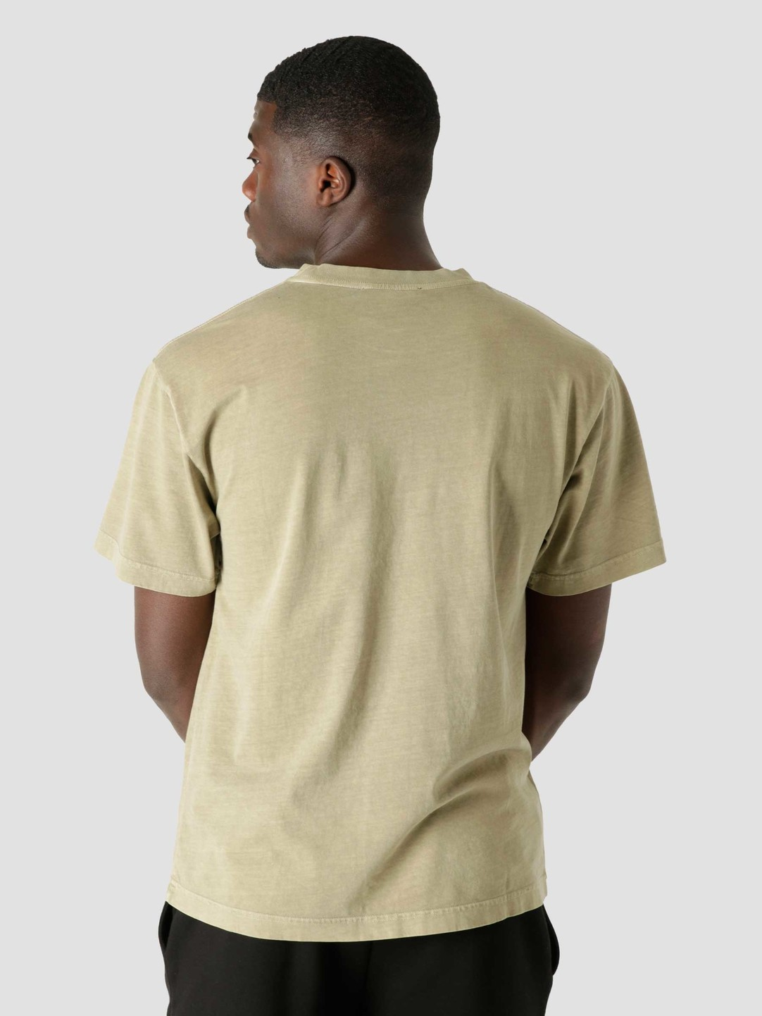 Olaf Hussein Olaf Hussein OLAF Chainstitch T-Shirt Moss Green