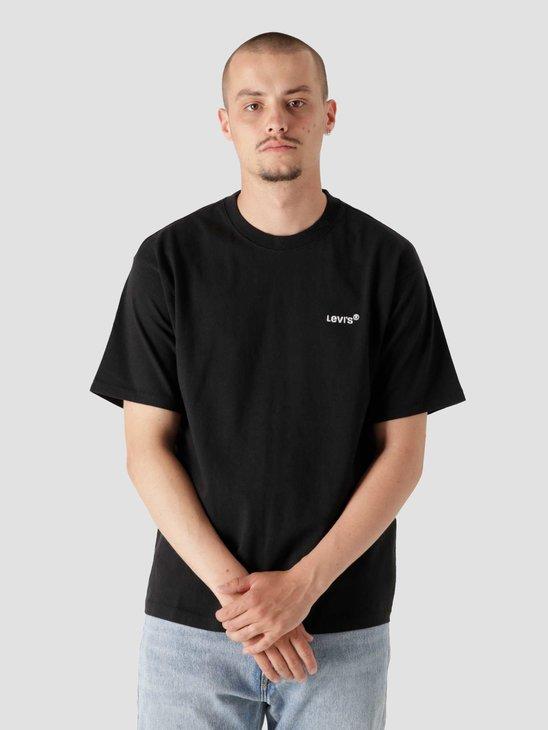 Levis Red Tab Vintage T-Shirt Mineral Bl Blacks A0637-0001