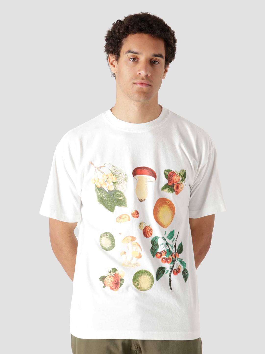 Obey Obey Fruits & Mushrooms White 166912677