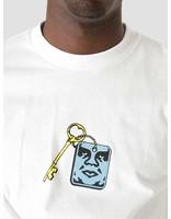 Obey Obey Lockup White 165262694