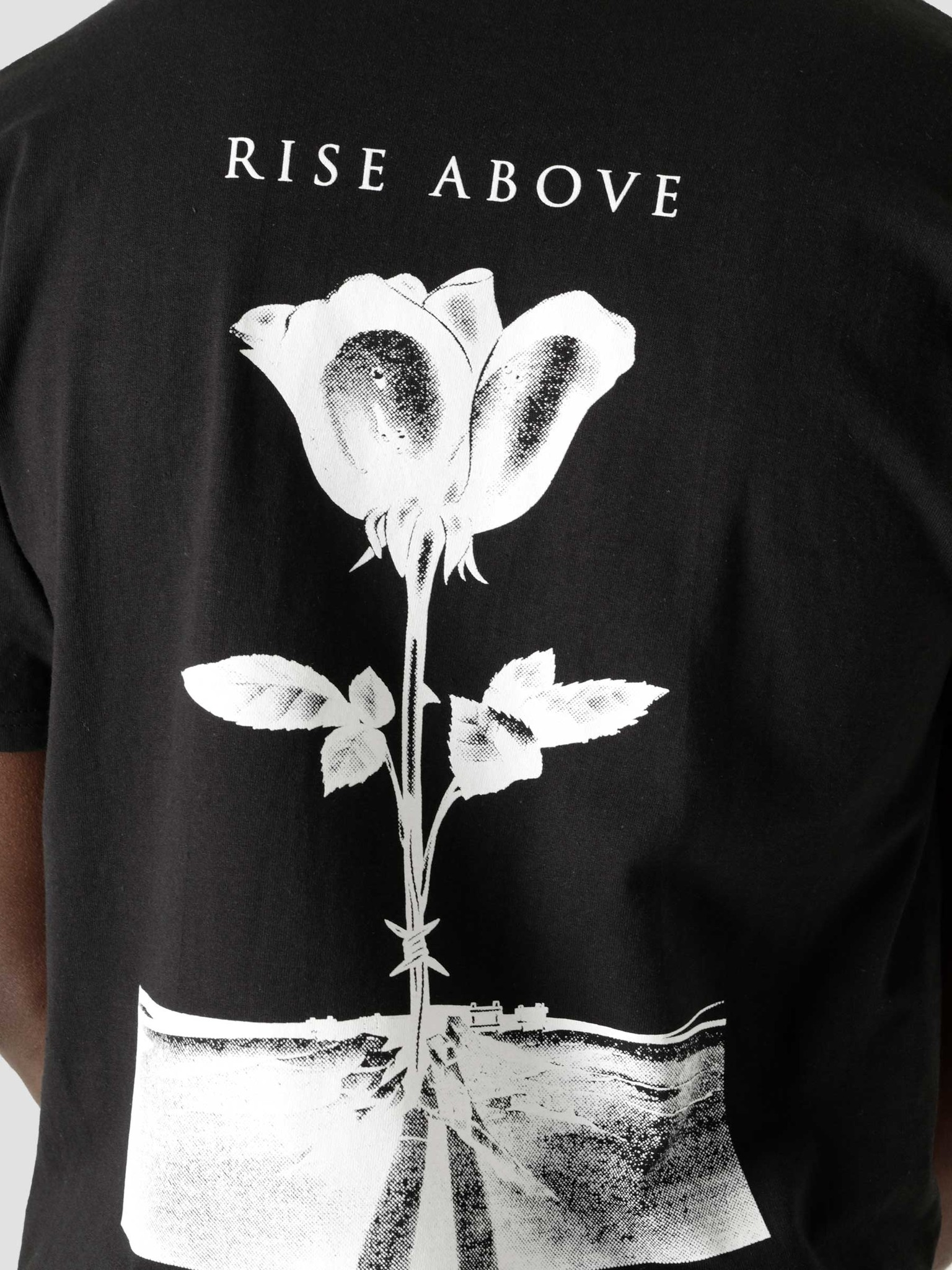 Obey Obey Obey Rise Above Rose Black 165262720