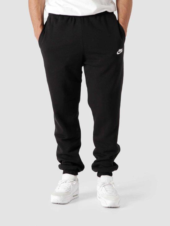 Nike Nsw Club Pant Cf Bb Black Black White BV2737-010