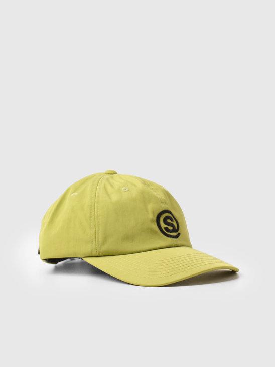 Stussy Washed Nylon Symbol Low Pro Green 1311001