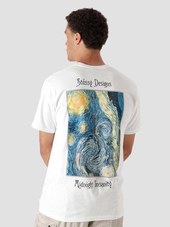 Stussy Midnight Insanity T-Shirt White 1904689
