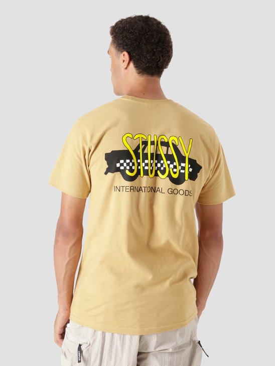 Stussy Taxi Cab T-Shirt Khaki 1904694