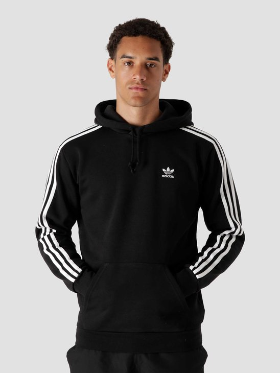 adidas 3 Stripes Hood Black H06676