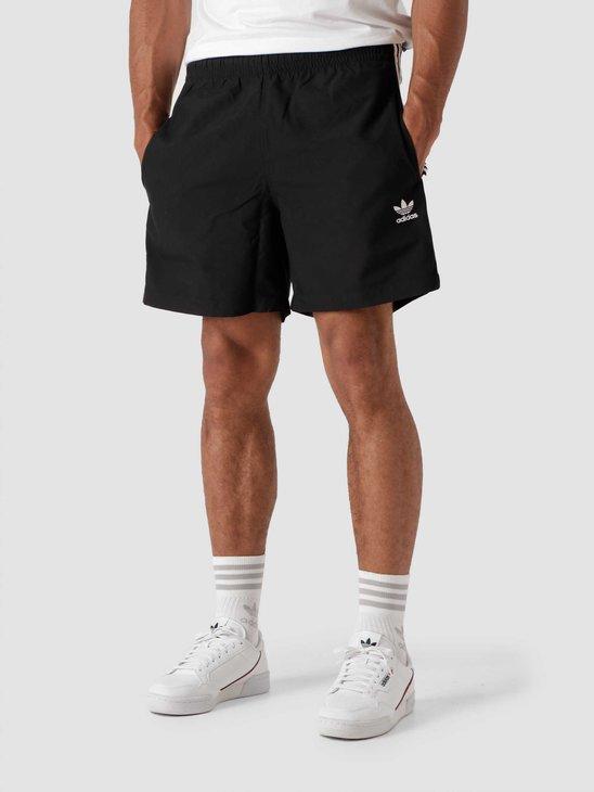 adidas 3 Stripes Swim Black H06701