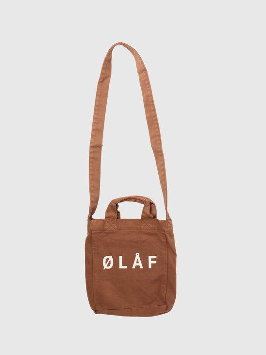 Olaf Hussein OLAF Mini Tote Bag Khaki