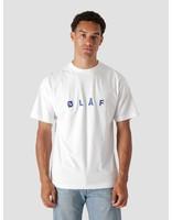 Olaf Hussein Olaf Hussein OLAF Chainstitch T-Shirt White