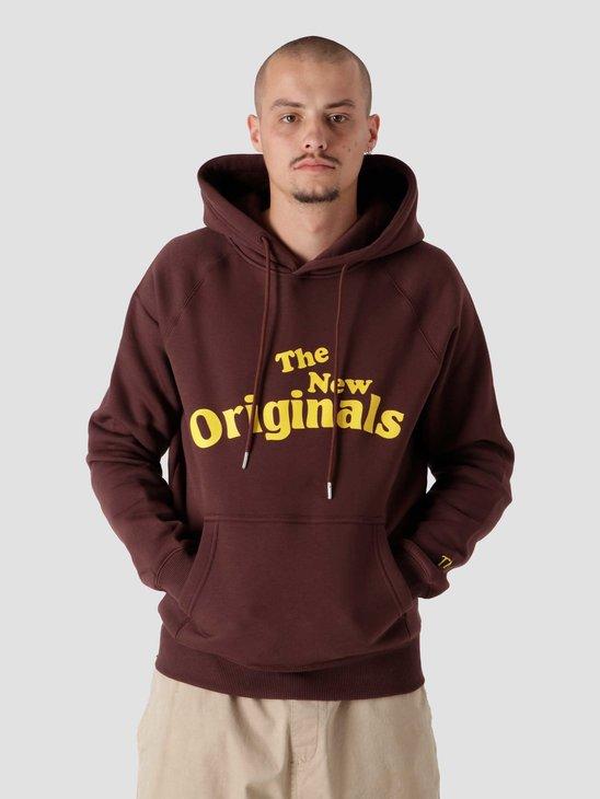 The New Originals Workman Hoodie Brown TNO.211.WM.300.802