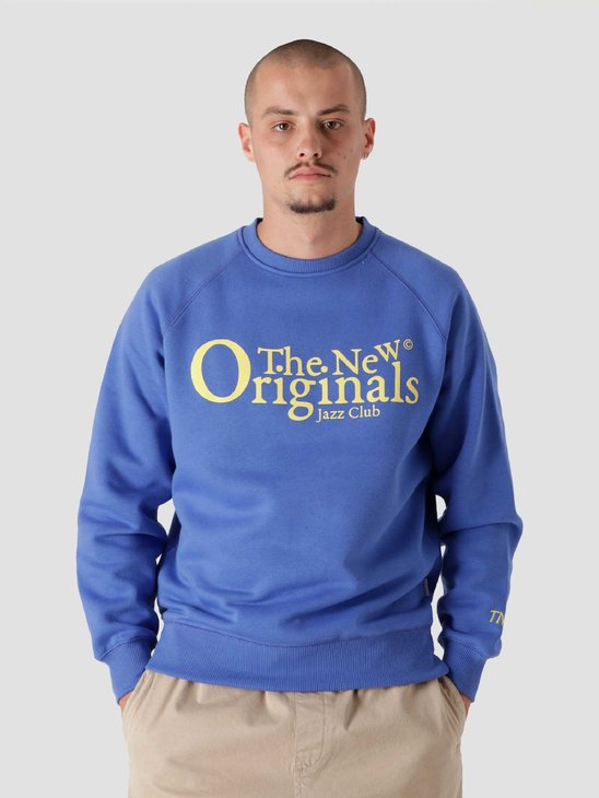 The New Originals Jazz Club Crewneck Blue TNO.211.TL.JAZ.350.607