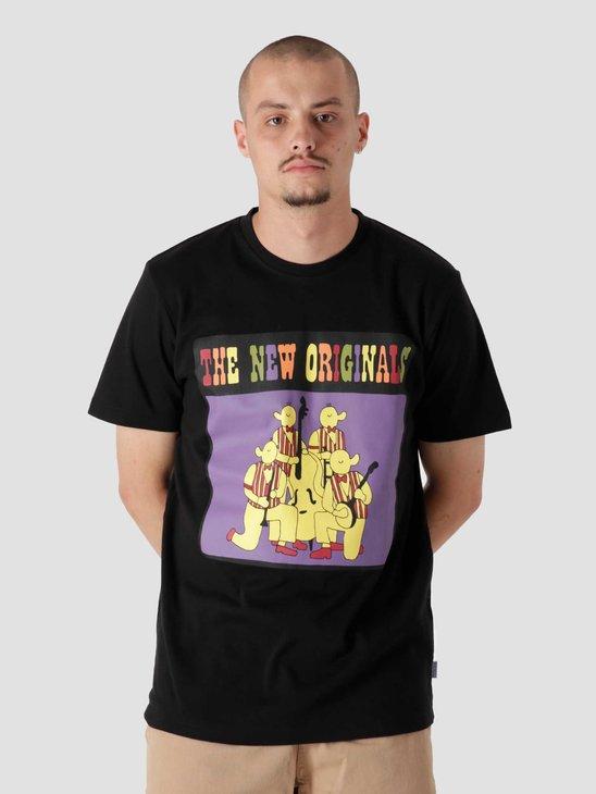 The New Originals n the Fellas Tee Black TNO.211.FR.BAN.100.999