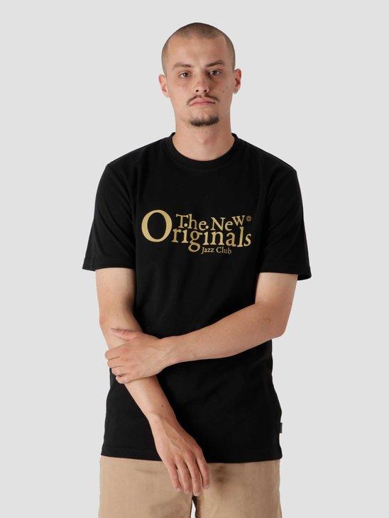 The New Originals Jazz Club Tee Black TNO.211.TL.JAZ.100.999