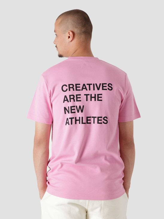 The New Originals Creatives Are The New Athletes T-Shirt Pink